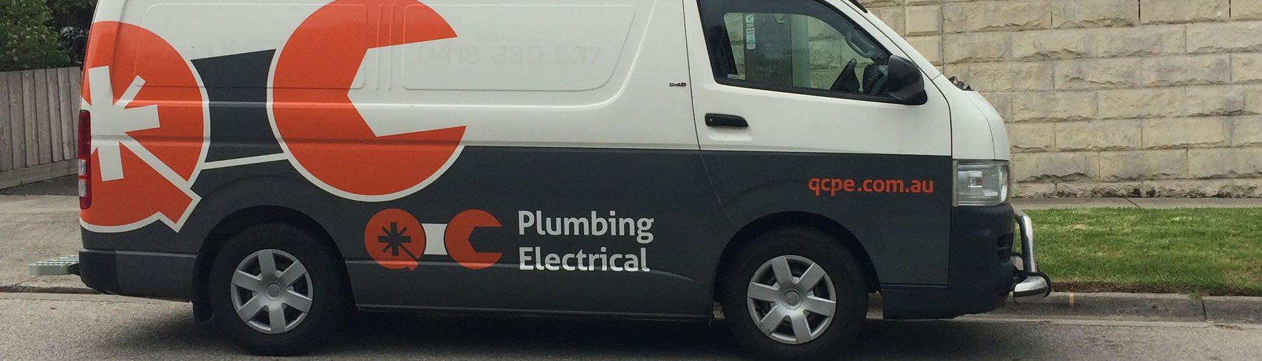 QC Plumbing and Electrical Van