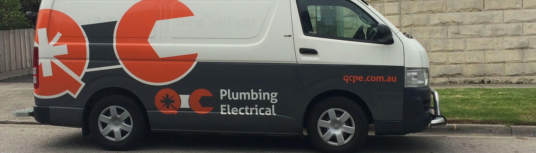 QC Plumbing and Electrical Van