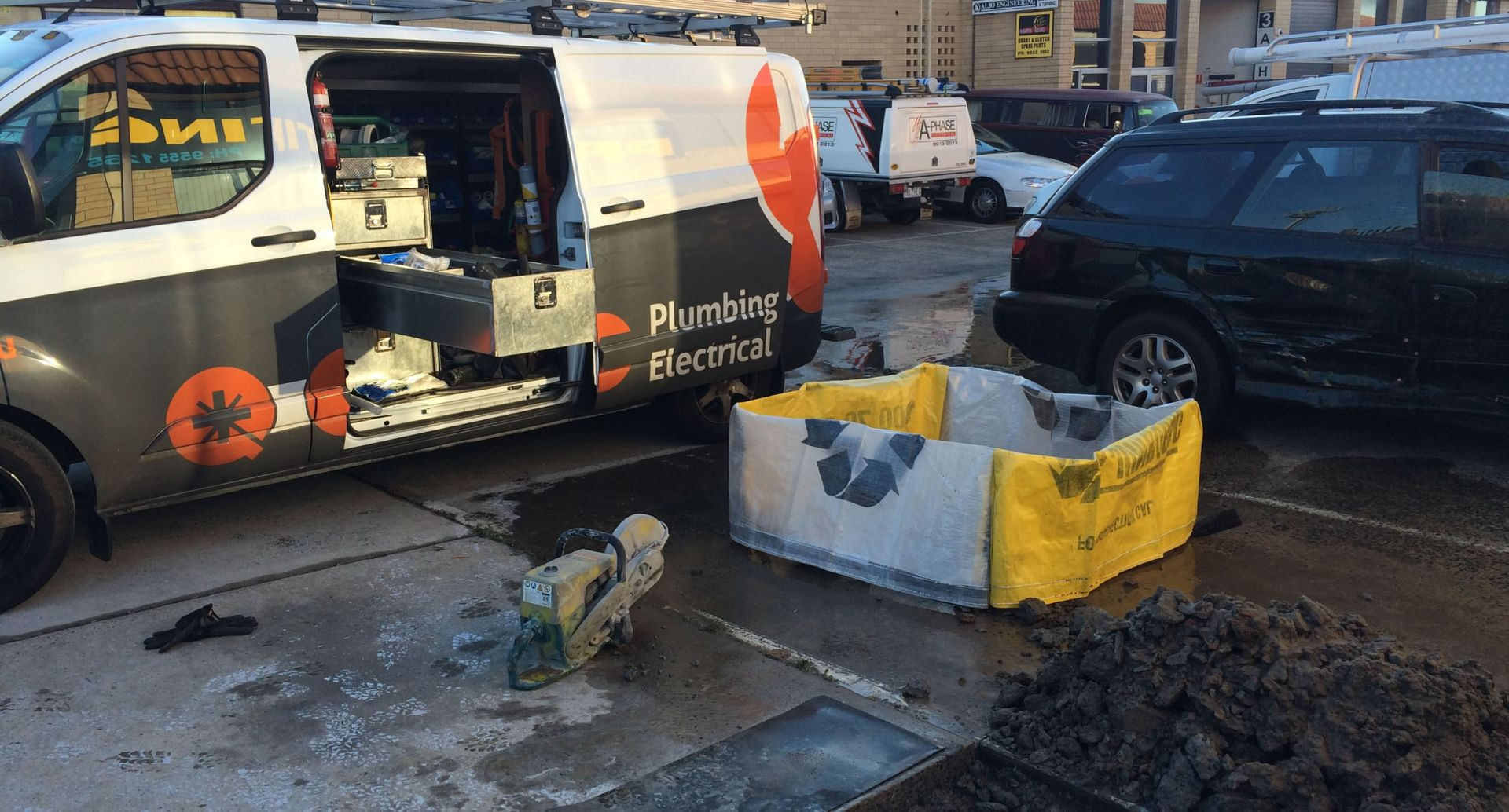 QC Plumbing and Electrical Street Work