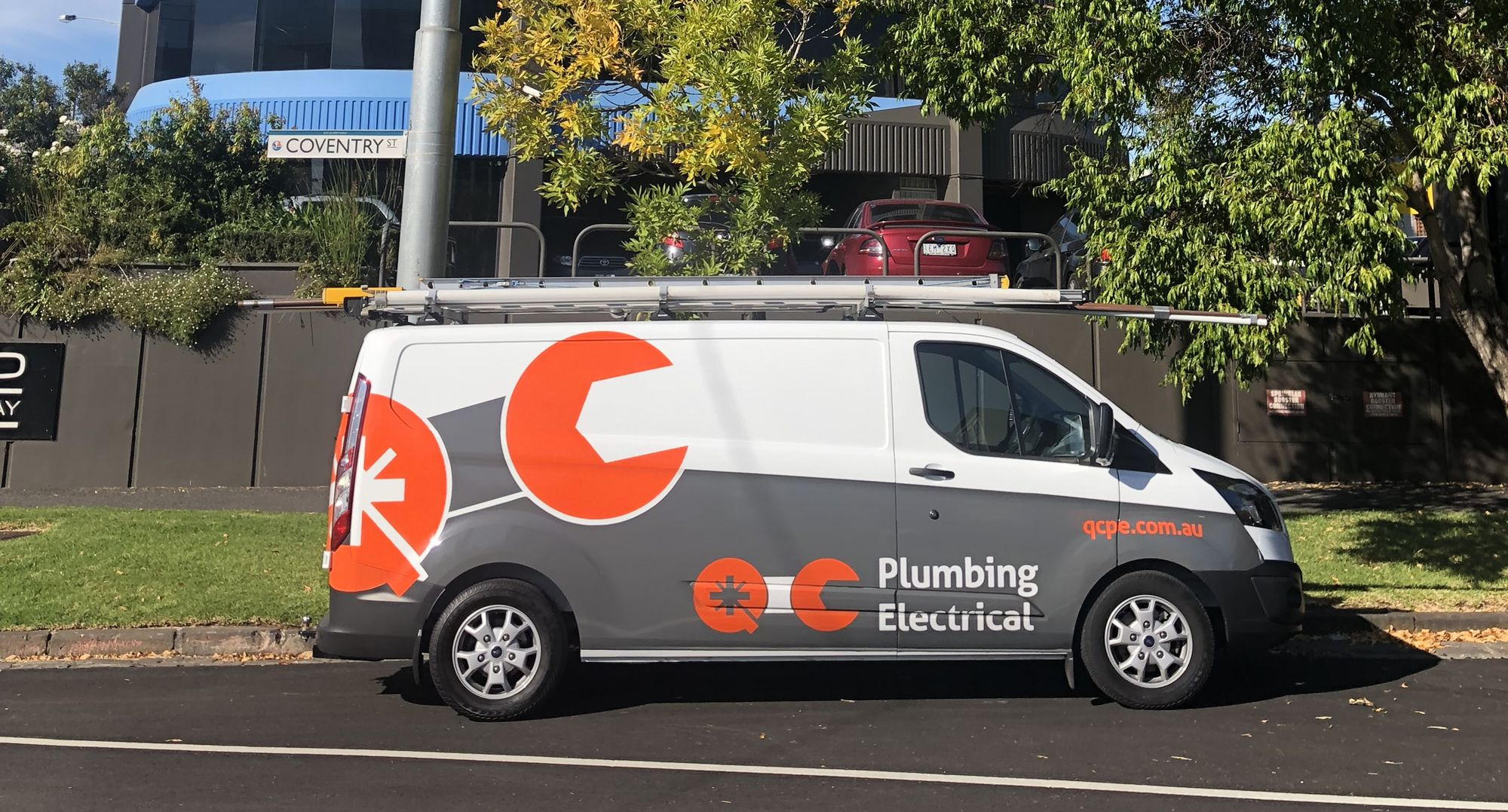 QCPE Plumbing Van